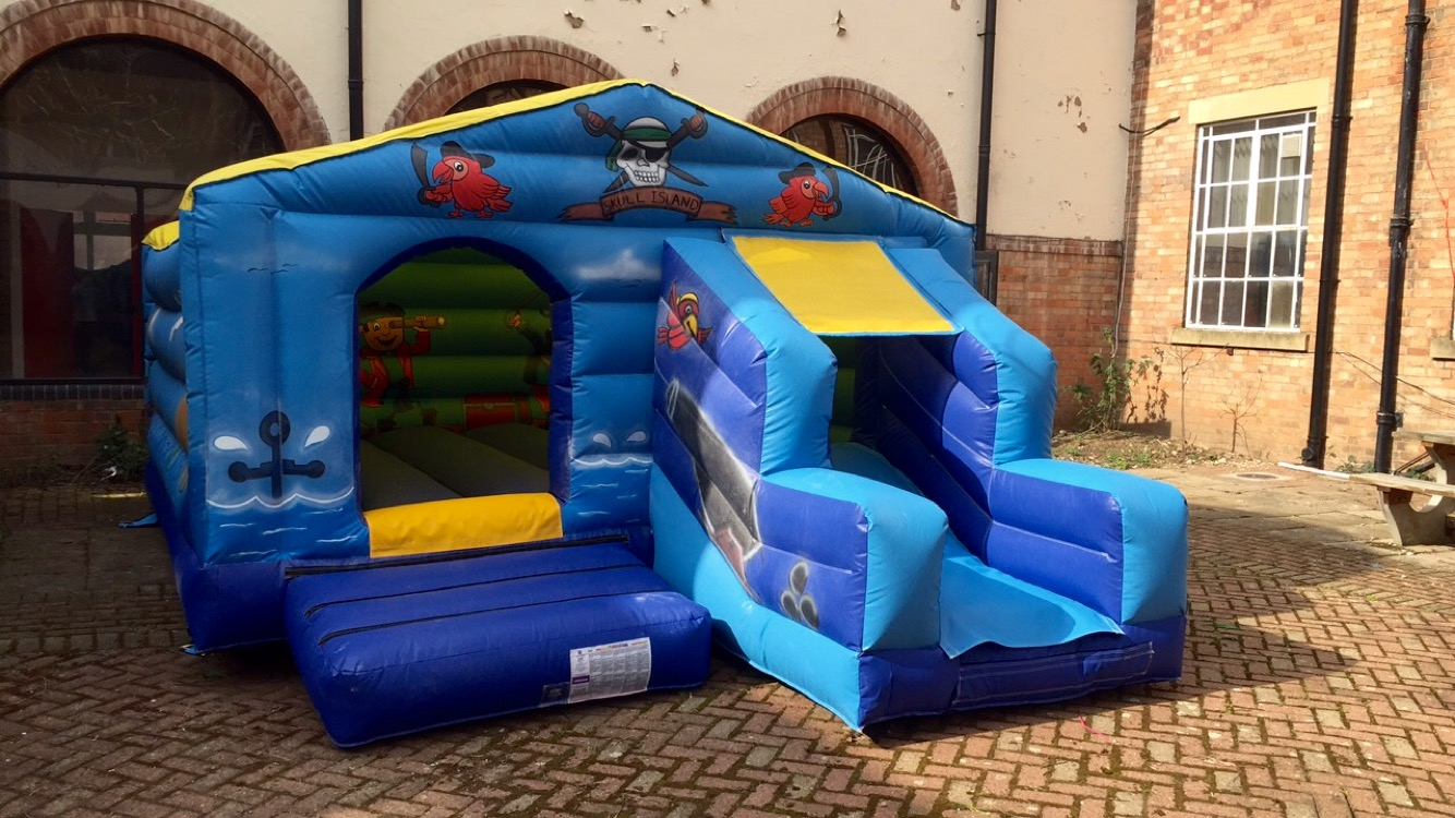 Pirate Slide Castle